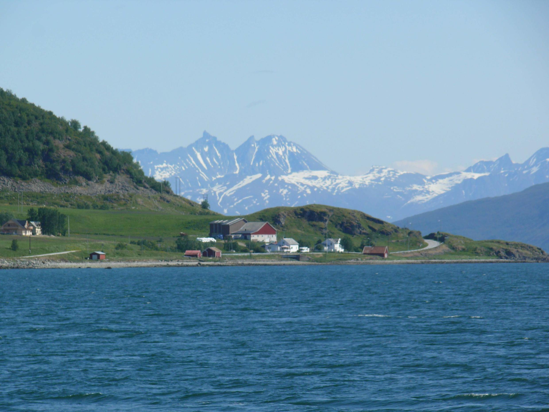Une vue de la ville de Tromsø.