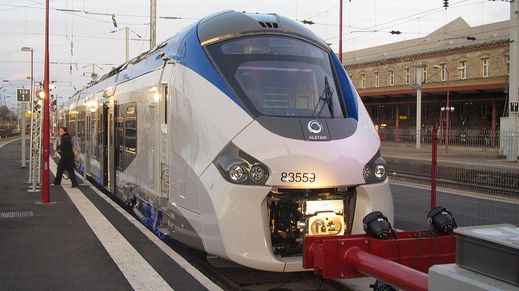 Alstom-made train