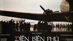 Áp phích phim Điện Biên Phủ của Pierre Schoendoerffer