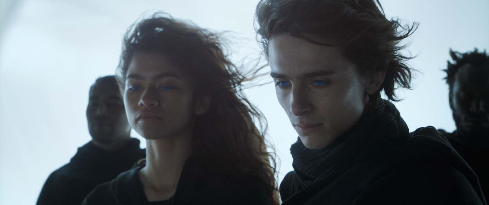 Zendaya et Timothée Chalamet, à l'affiche de «Dune» de Denis Villeneuve.