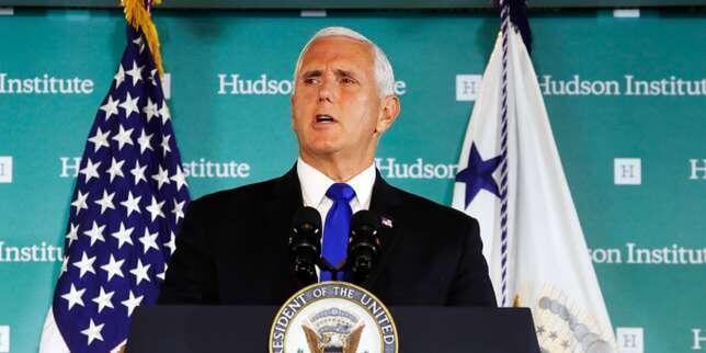 美國副總統彭斯周四在哈德遜研究所針對中國問題發表嚴厲講話