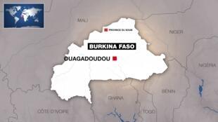 La zone du Soum, dans le nord du Burkina Faso, où a eu lieu l'attaque ce lundi 19 août.