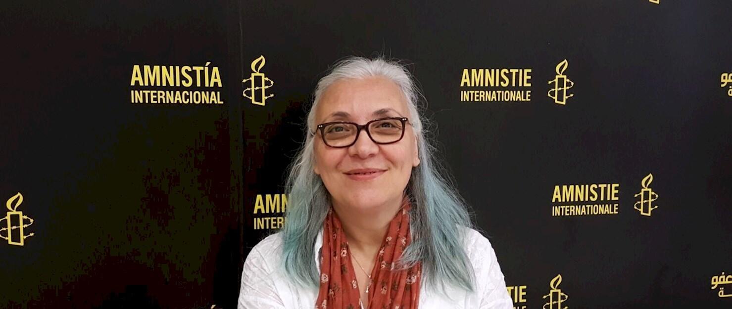 Idil Eser giám đốc Amnesty International tại Thổ Nhĩ Kỳ.