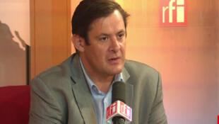 François Kalfon, conseiller régional PS en Île-de-France.