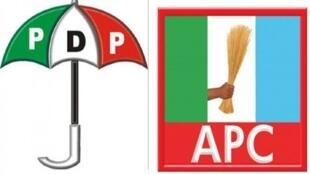 Tutar jam'iyar APC mai mulki da ta PDP mai adawa a Najeria