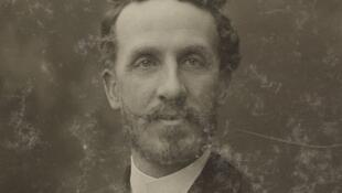 Edouard Alfred Martel fotografiado por Nadar.