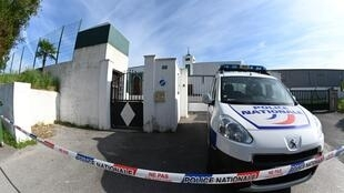 Two people were wounded after a man opened fire outside the mosque in Bayonne.