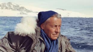 Paul-Emile Victor, en décembre 1968 en Antarctique.