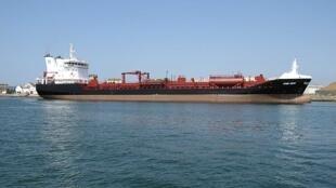 Un tanker petrolier.