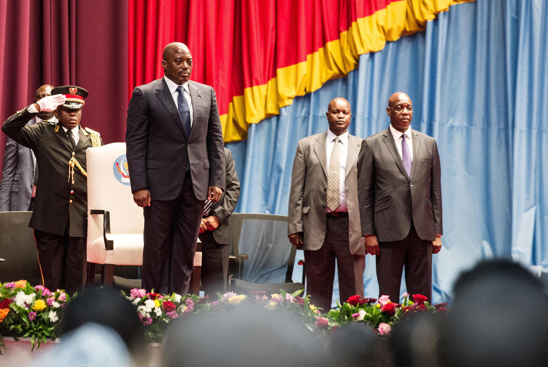 Rais Joseph Kabila wa DRC mbele ya bunge la kitaifa na senet, Novemba 15 2016.