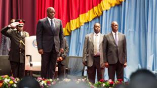 Rais wa DRC Joseph Kabila mbele ya bunge la kitaifa na Senet, novembre 15 2016 jijini Kinshasa.