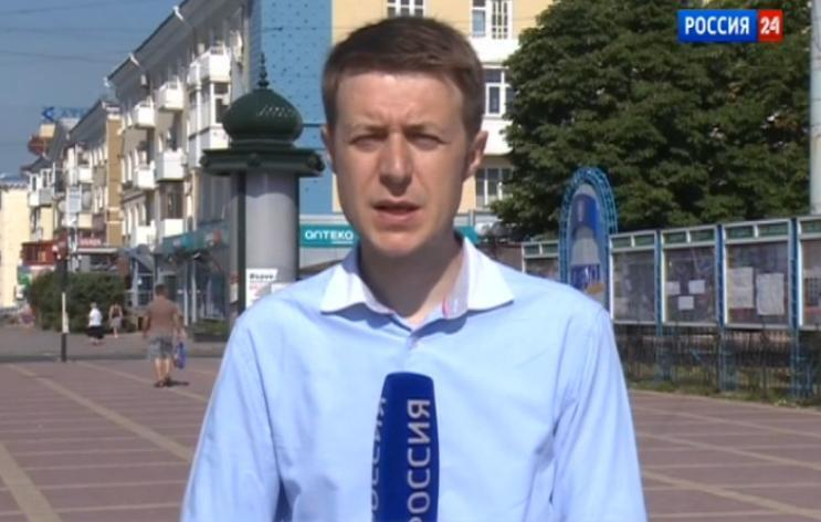 """Igor Korneliuk, correspondente da """"Rádio Televisão Estatal da Rússia (VGTRK), foi morto no leste da Ucrânia."""