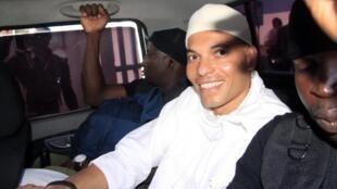 Karim Wade, mtoto wa rais wa zamani wa Senegal, akituhumiwa kujitajirisha kinyume cha sheria.