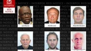 La nota roja de Interpol contra directivos y empresarios ligados a la FIFA.