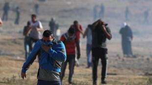 Malgré quelques heurts, le bilan de la manifestation de ce 2 novembre à Gaza est le moins lourd depuis mars dernier.