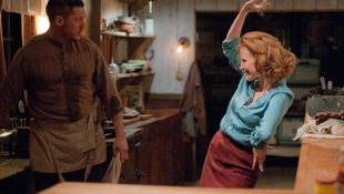 Still from Lawless with actress Jessica Chastain