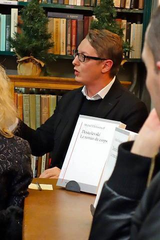 Автор книги «В голове у Владимира Путина», французский философ и журналист Мишель Ельчанинов