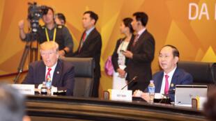 亞太經合組織峰會 2017年11月11日 越南峴港