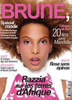 Le magazine Brune propose un contenu étoffé allant des conseils de beauté aux questions politiques en passant par le bien-être, le shopping, la santé et la culture.