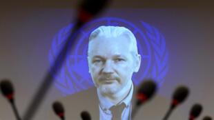 Julian Assange, fondateur de WikiLeaks, est exilé dans l'ambassade d'Equateur à Londres depuis 2012.