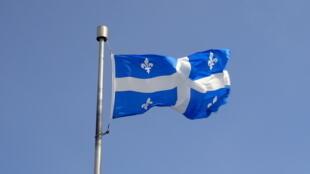 Drapeau du Québec.