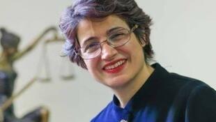 نسرین ستوده ، وکیل زندانی و مدافع حقوق بشر در ایران.