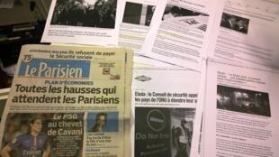 Diários franceses 16/10/2014