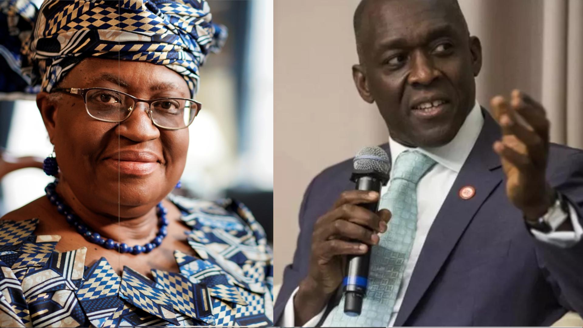 Ngozi Okonjo Iweala et Makhtar Diop