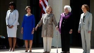 First ladies.