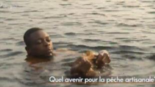 Capture d'écran du documentaire «Le poisson demain» d'Alexis de La Rivière sur la pêche artisanale au Congo-Brazzaville.