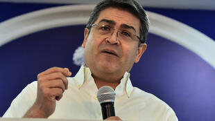 Honduran President Juan Orlando Hernandez was alleged to have given cover for his brother's crimes