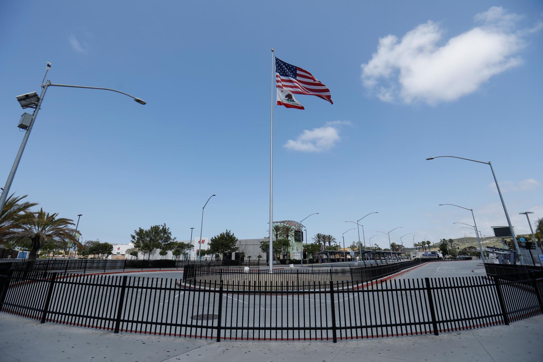 Fronteira terrestre dos EUA com o México fechada. 21/04/2020