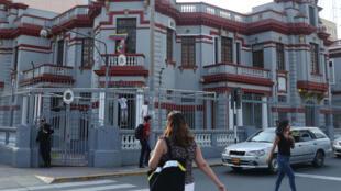 Ainda não se sabe se o prédio da embaixada da Venezuela em Lima poderá ser ocupado pelo embaixador designado por Guaidó