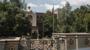 Picha ya makao makuu ya Kanisa la Orthodox Addis Ababa, Ethiopia.