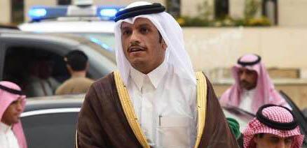 محمد بن عبدالرحمن آل ثانی، وزیر امور خارجه قطر - تصویر آرشیوی