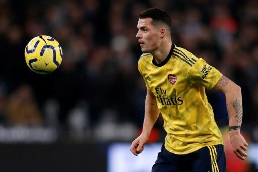 Wanted man - Arsenal midfielder Granit Xhaka