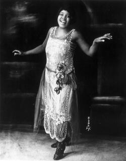 La chanteuse américaine Bessie Smith en 1923.