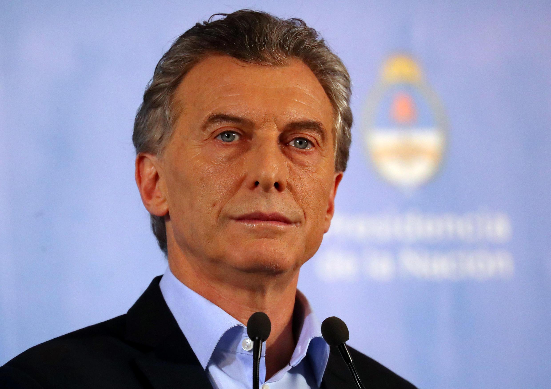 O presidente argentino, Mauricio Macri, tentará se reeleger em outubro.