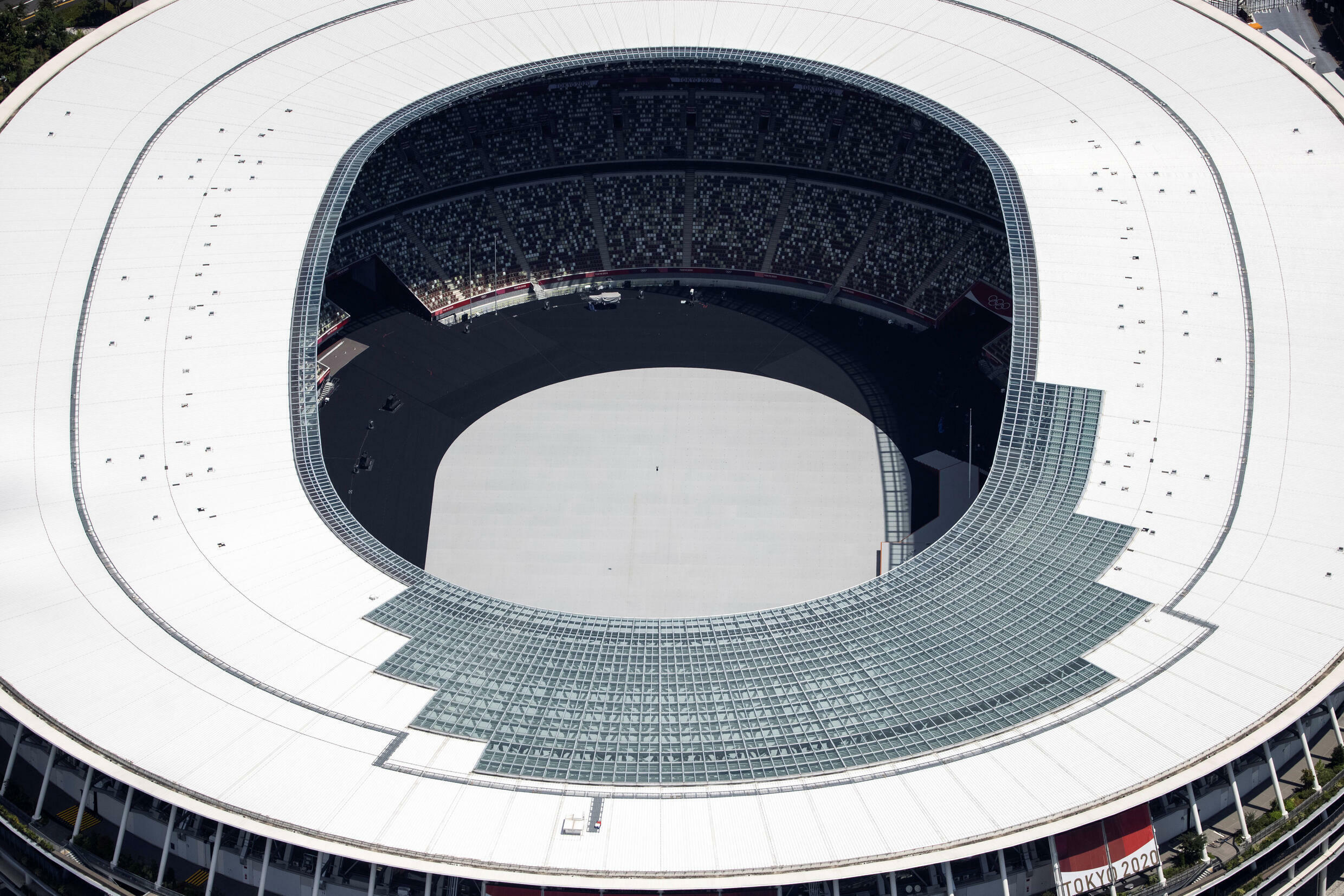 The Olympic Stadium will host the opening ceremony on Friday