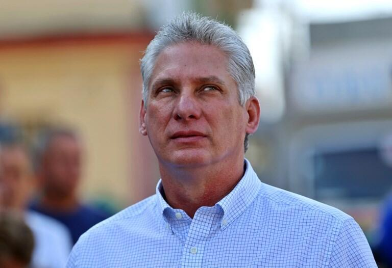 Miguel Díaz-Canel. 11 de Março de 2018. Santa Clara, Cuba.
