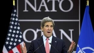John Kerry em discurso na OTAN nesta terça-feira, 23 de abril de 2013.