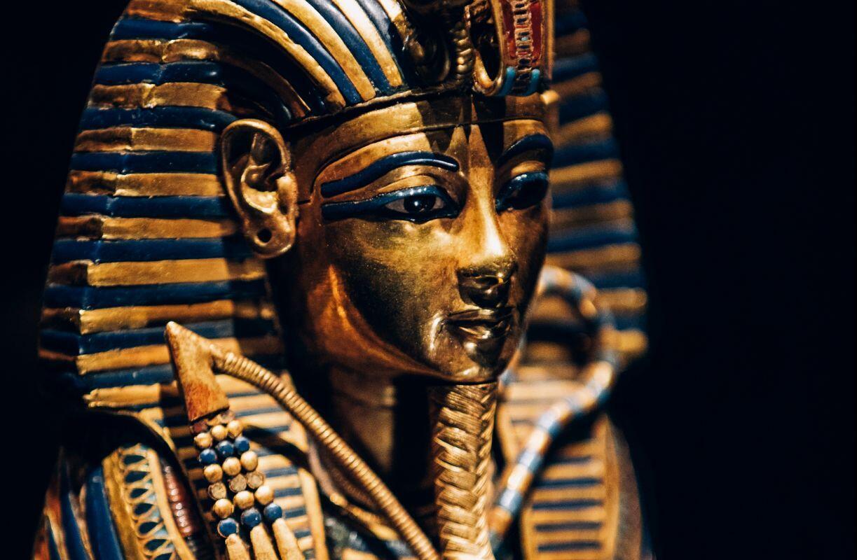 Một trong 150 cổ vật được trưng bày tại triển lãm Toutankhamon, kho báu của Pharaon tại Paris 23/03-15/09/2019.