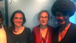 Karidja Touré, Sophie Torlotin, Elisabeth Lequeret et Isabelle Boni-Claverie (de gauche à droite).