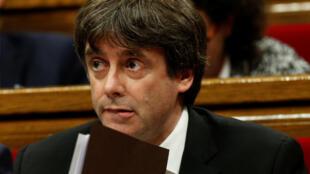 Глава Женералитата Каталонии Карлес Пучдемон призвал парламент отложить провозглашение независимости