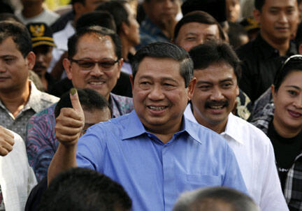 Tổng thống Indonesia Yudhoyono (Reuters)