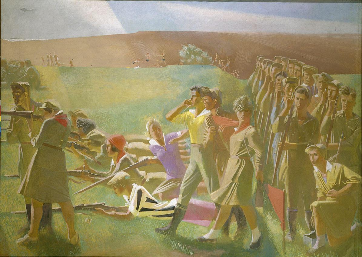 Александр Самохвалов, «Военизированный комсомол». 1933 г.