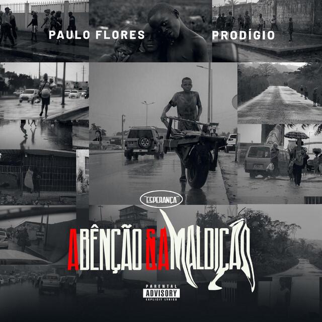 """Capa do album de Paulo Flores e Prodígio, """"A Bênção e a Maldição""""."""