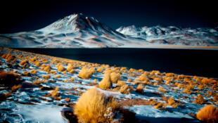 La neige est tombée sur le désert de l'Atacama au Chili.