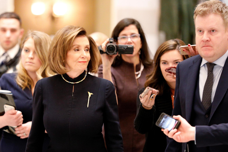 Spika wa Bunge la Marekani, Nancy Pelosi.