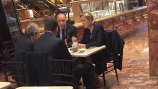 Marine Le Pen at Trump Tower